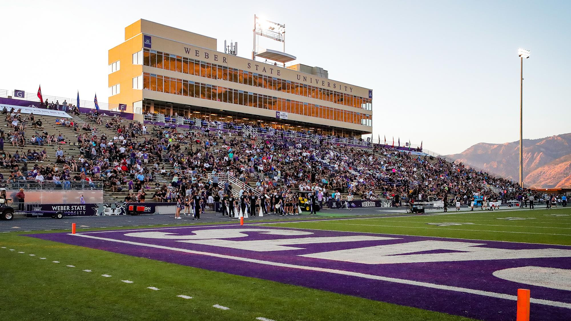 Image result for weber state football stadium