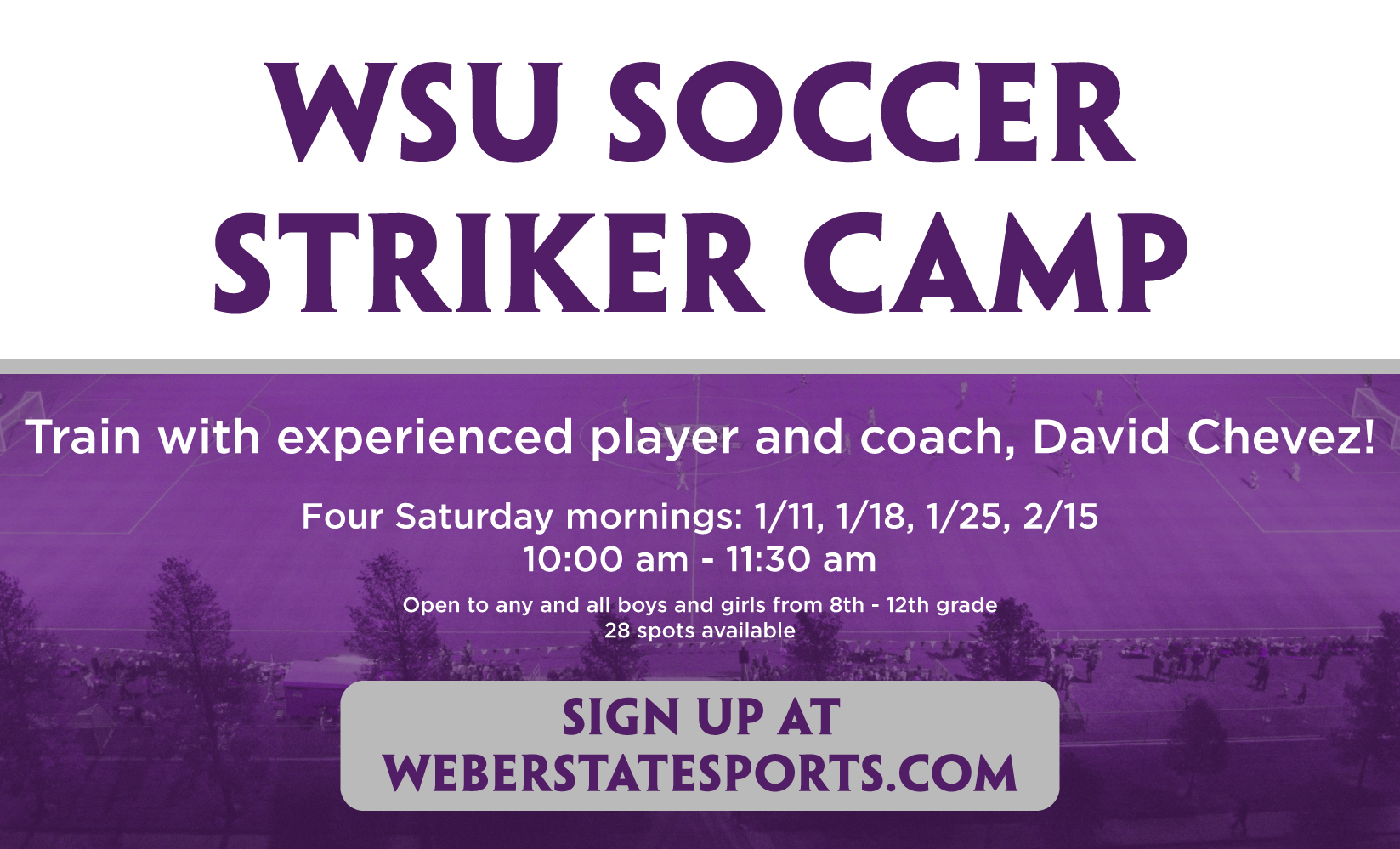 Fresno State Winter Intersession 2020.Wildcat Soccer Announces 2020 Striker Camp Weber State
